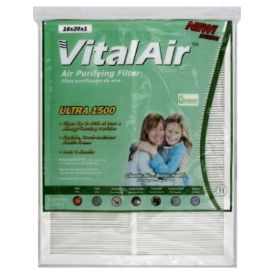 Air Purifying Filter, Ultra 1500, 16 x 20 x 1, 1 filter                                                                          at mygofer.com
