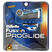 Gillette Fusion ProGlide Cartridges, 6 cartridges at Kmart.com