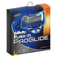 Gillette Fusion ProGlide Cartridges, 4 cartridges at Kmart.com