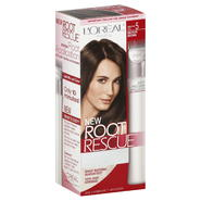 L'Oreal Root Rescue Permanent Hair Color, Level 3, Medium Brown Shade 5, 1 application at Kmart.com