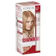 L'Oreal Root Rescue Permanent Hair Color, Level 3, Medium Blonde Shade 8, 1 application at Kmart.com