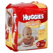 Huggies Little Snugglers Diapers, Size 2 (12-18 lb), Disney Winnie the Pooh, Jumbo, 36 diapers at Kmart.com