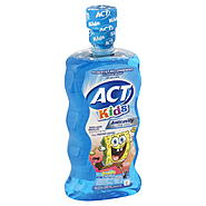 Act Kids Fluoride Rinse, Anticavity, Ocean Berry, Nickelodeon SpongeBob SquarePants, 16.9 fl oz (500 ml) at Kmart.com