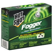 Hot Shot Fogger 5, with Odor Neutralizer, 3 - 2 oz foggers [6 oz (170 g)] at Kmart.com