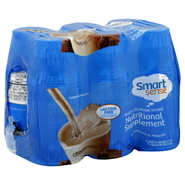 Smart Sense Ready to Drink Shake, Chocolate, 6 - 8 fl oz (237 ml) bottles [1.5 qt (1.42 lt)] at Kmart.com
