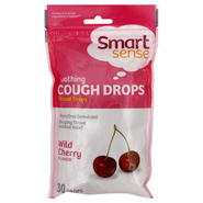 Smart Sense Cough Drops, Soothing, Wild Cherry, 30 drops at Kmart.com