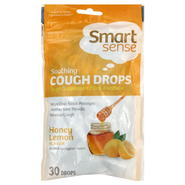 Smart Sense Cough Drops, Soothing, Honey Lemon, 30 drops at Kmart.com