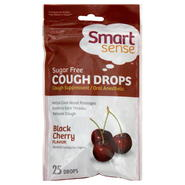Smart Sense Cough Drops, Sugar Free, Black Cherry, 25 drops at Kmart.com