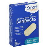 Smart Sense Bandages, Advanced Blister Healing, Hands & Feet, 6 bandages at mygofer.com