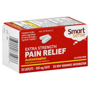 Smart Sense Acetaminophen, 500 mg, Extra Strength, Caplets, 24 caplets at Kmart.com