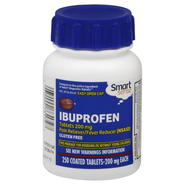 Smart Sense Ibuprofen, 200 mg, Coated Tablets, 250 tablets at Kmart.com