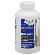 Smart Sense Ibuprofen, 200 mg, Coated Tablets, 500 caplets at Kmart.com