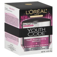 L'Oreal Skin Expertise Youth Code Moisturizer, Day/Night Cream, 1.6 oz (45 g) at Kmart.com