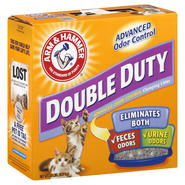 Arm & Hammer Double Duty Clumping Litter, Advanced Odor Control, 20 lb (9.07 kg) at Kmart.com