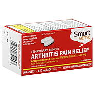 Smart Sense Arthritis Pain Relief, Temporary, Minor, 650 mg, Caplets, 50 caplets at Kmart.com