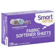 Smart Sense Fabric Softener Sheets, Lavender Scented, 120 count at Kmart.com