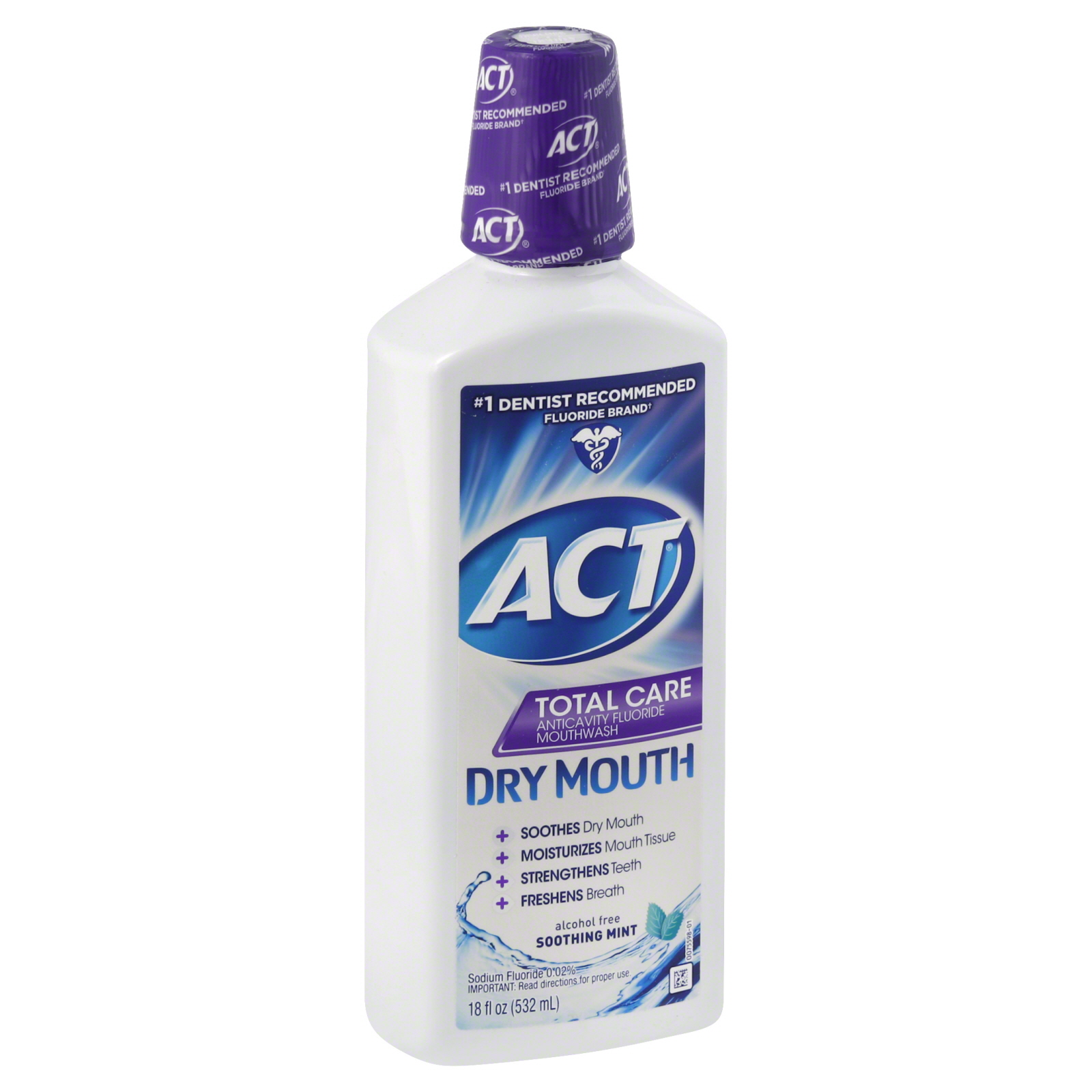 Total Care Mouthwash, Anticavity Fluoride,