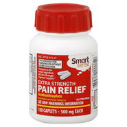 Smart Sense Pain Relief, Extra Strength, 500 mg, Caplets, 150 caplets at Kmart.com