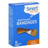 Smart Sense Bandages, Multi-Purpose, Flexible Fabric, 30 bandages at mygofer.com