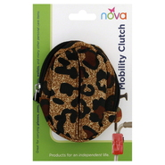 Nova Ortho-Med Inc Mobility Clutch, Brown Pattern, 1 clutch at Kmart.com