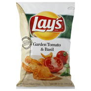 Frito Lay Potato Chips, Garden Tomato & Basil, 10 oz (283.5 g) at Kmart.com