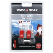 Swiss Gear Travel Sentry Key Locks, Travel Sentry, Red, 2 locks at Sears.com