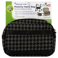 Nova Ortho-Med Inc Glamour Line Mobility Hand Bag, Black/Tan Pattern, 1 bag at Kmart.com