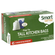 Smart Sense Tall Kitchen Bags, Flap Tie, 13 Gallon, 45 bags at Kmart.com