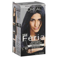 L'Oreal Feria Midnight Collection Permanent Haircolour Gel, Cooler, Cool Soft Black M31, 1 application at Kmart.com
