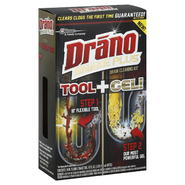 Drano Snake Plus Drain Cleaning Kit, 1 kit at Kmart.com