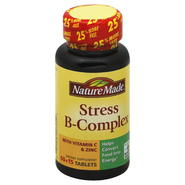 Nature Made Stress B-Complex, with Vitamin C & Zinc, Tablets, 75 tablets at Kmart.com