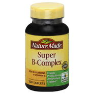 Nature Made Super B-Complex, with Vitamin C & Folic Acid, Tablets, 140 tablets at Kmart.com