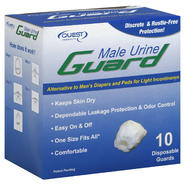 Quest Male Urine Guard, 10 guards at Kmart.com