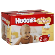 Huggies Little Snugglers Diapers, 2, 12-18 lb, Disney Winnie the Pooh, Big Pak, 76 diapers at Kmart.com