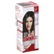 L'Oreal Root Rescue Root Coloring Kit, Natural Black, 2, 1 application at Kmart.com