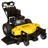 Stanley 54 in. Commercial Duty Dual Hydro Walk-Behind Finish Cut Mower with Floating Deck Powered by Honda GXV530 Engine - Non C at mygofer.com