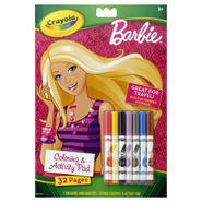 Crayola Coloring & Activity Pad, Barbie, 1 kit at Kmart.com