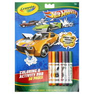 Crayola Coloring & Activity Pad, Hot Wheels, 1 kit at Kmart.com
