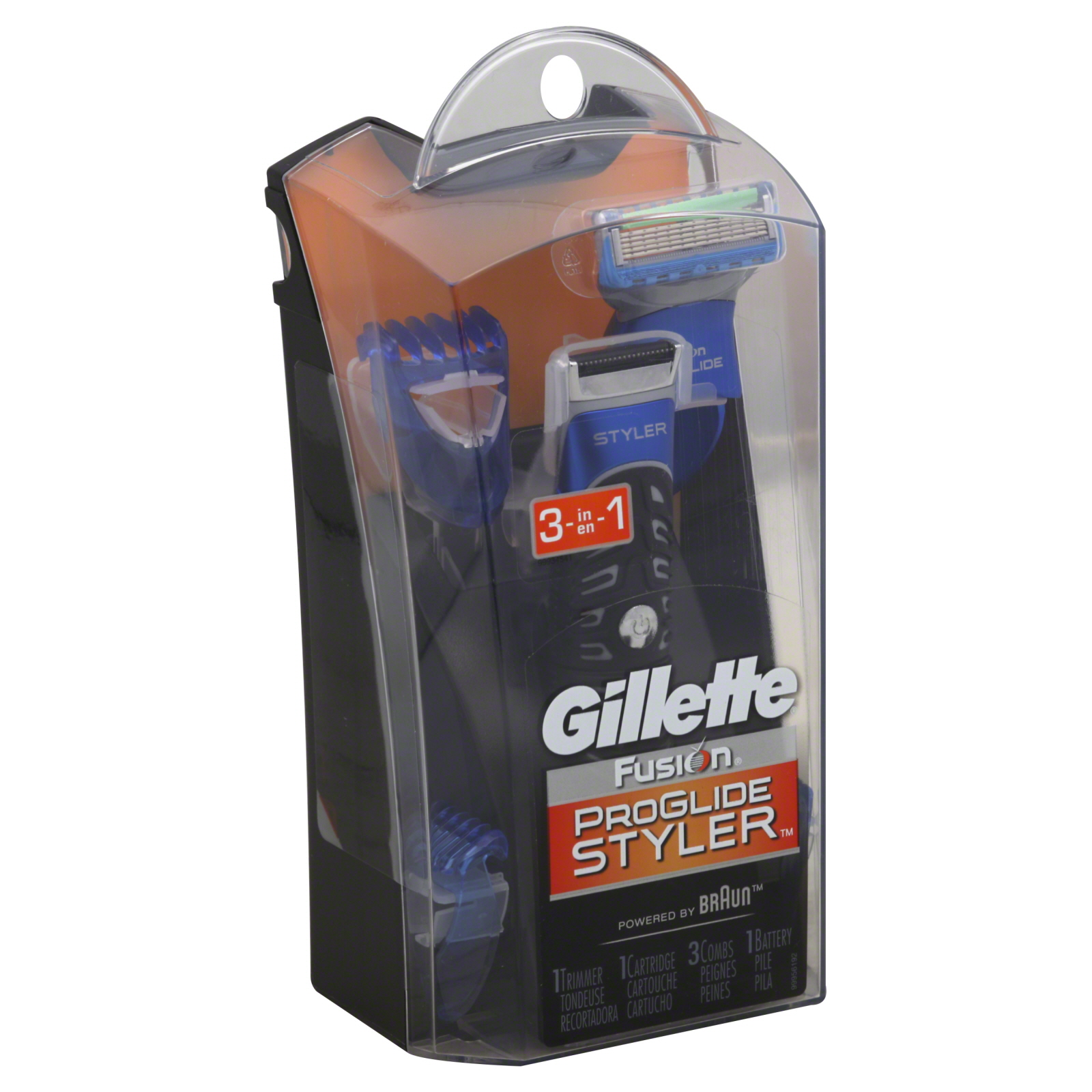 Gillette Fusion ProGlide Styler, 3-in-1, 1 kit