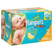 Pampers Baby Dry Diapers, Size 2 (12-18 lb), Sesame Street, 120 diapers at Kmart.com