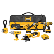 DeWalt 18 V XRP™ Lithium-Ion 6-Tool Cordless Combo Kit at Sears.com