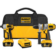 DeWalt XRP 18 V Li-ion Li-ion Hammer Drill / Impact Driver Kit at Sears.com