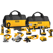 DeWalt 18 V XRP™ Cordless 9-Tool Combo Kit with Impact Driver at Sears.com
