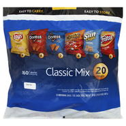 Frito Lay Classic Mix, 20 - 1 oz bags [20 oz (1 lb 4 oz) 567 g] at Kmart.com