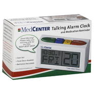 MedCenter Alarm Clock, Talking, and Medication Reminder, 1 clock at Kmart.com