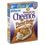 Cheerios Cereal, Multi Grain, Peanut Butter, 11.3 oz (320 g) at Kmart.com