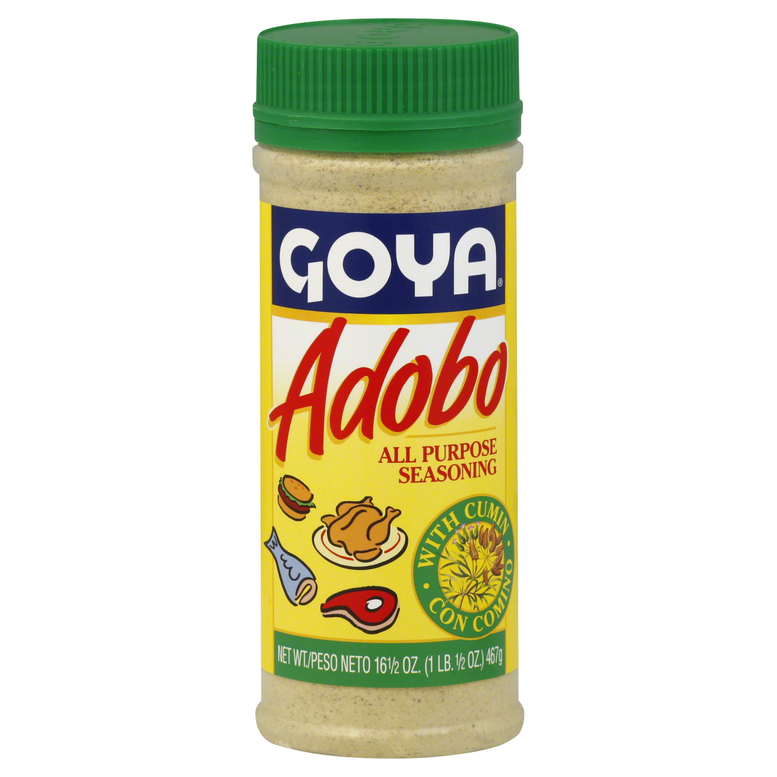 Adobo All Purpose Seasoning, with Cumin, 16.5