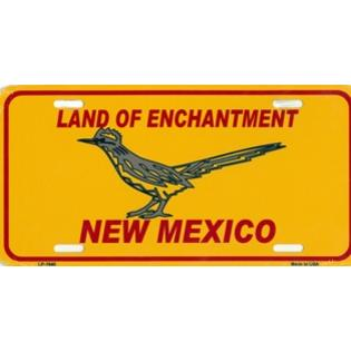 Smart Blonde New Mexico Land of Enchantment with Roadrunner License Plate at Sears.com