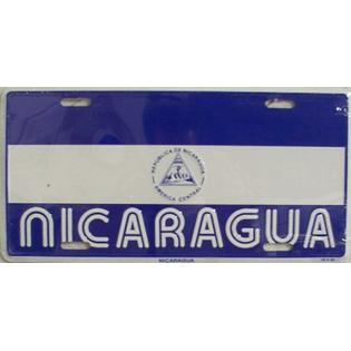 Dixie Nicaragua Flag License Plate at Sears.com