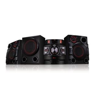 LG 1900-Watt Bluetooth Hi-Fi Audio Stereo Sound System With Single Disc Cd Player, AM/FM-Radio, Dual USB, Sound Sync, Re